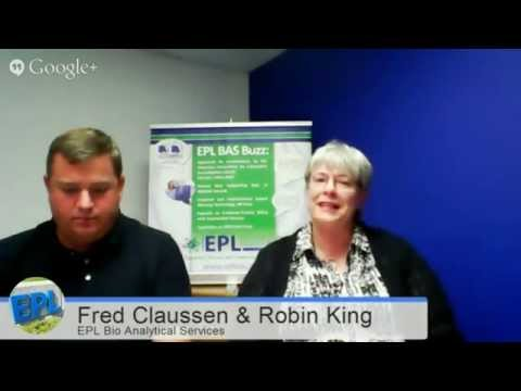 Ag & Food Biotech with EPL Bio Analytical Services' Robin King and Fred Claussen - CU150 Ep.#11