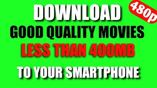 Download 300MB size movies / no torrent