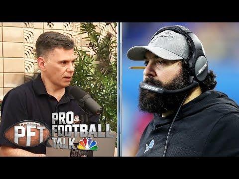 Lions' Matt Patricia on building Detroit culture, Gronk memories | Pro Football Talk | NBC Sports