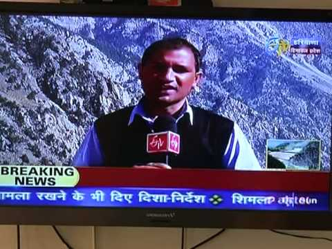 Impacts of Hydro power projects in #Kinnaur- A Story by #Etv News