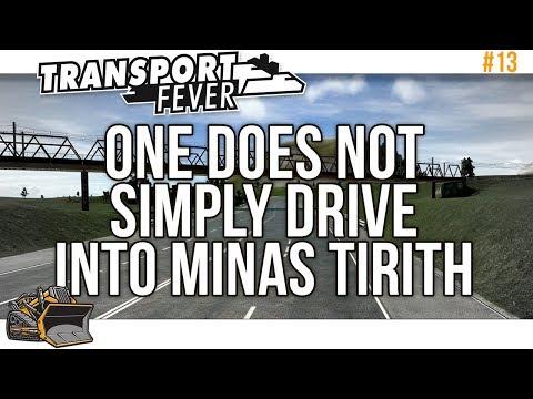 Minas Tirith Roman Road Transport Fever Mainline #13