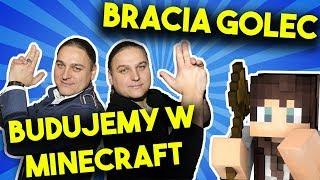 BUDUJEMY BRACI GOLEC W MINECRFAT CZ.1 /LIVE !
