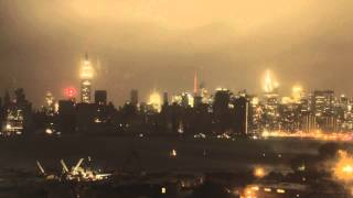 Hurricane Sandy: Time Lapse of NYC Losing Power During Hurricane Sandy