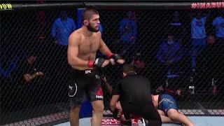 Лучшие моменты UFC 254. Финиш Хабиба.