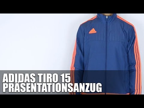 adidas tiro 15 pr sentationsanzug review youtube. Black Bedroom Furniture Sets. Home Design Ideas
