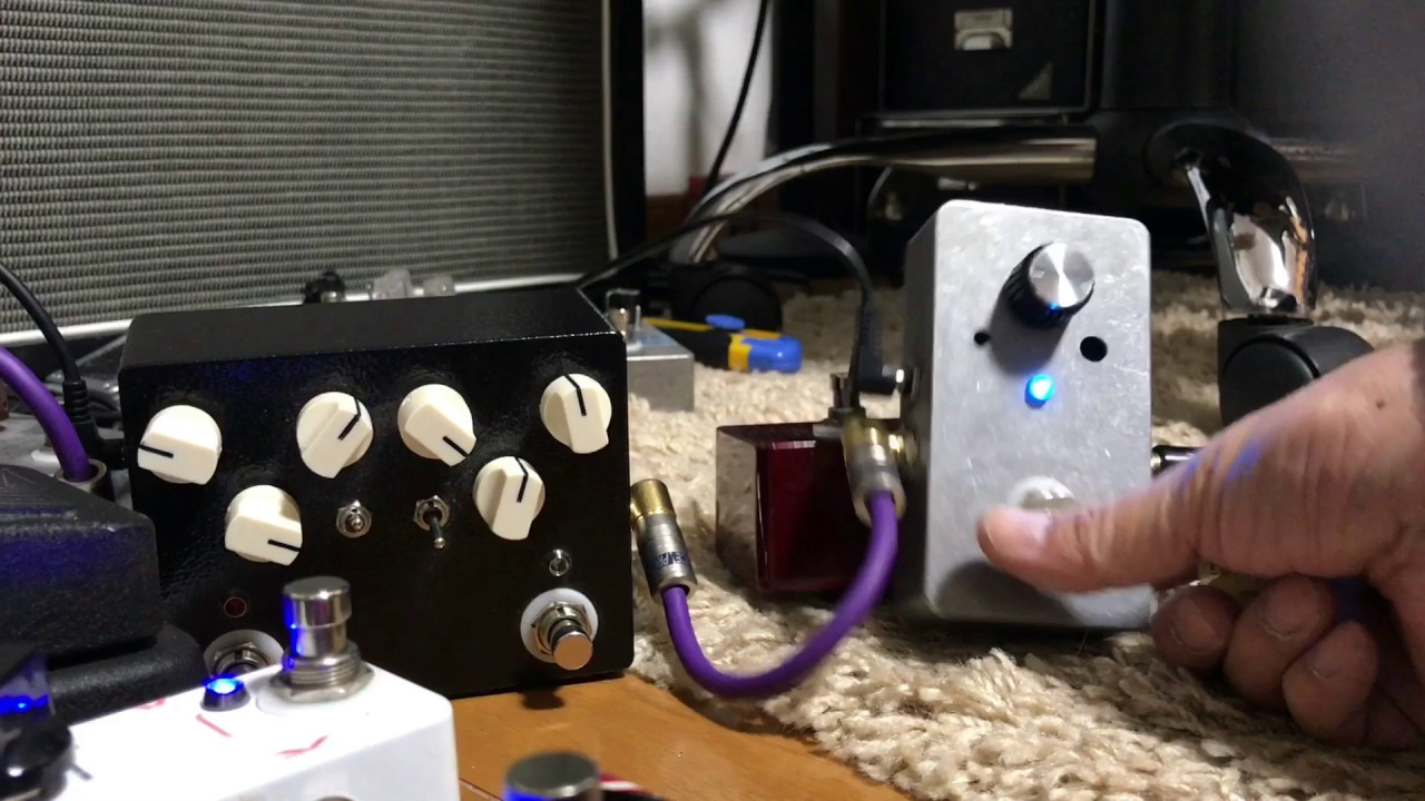 diy effect pedal clean booster youtube. Black Bedroom Furniture Sets. Home Design Ideas