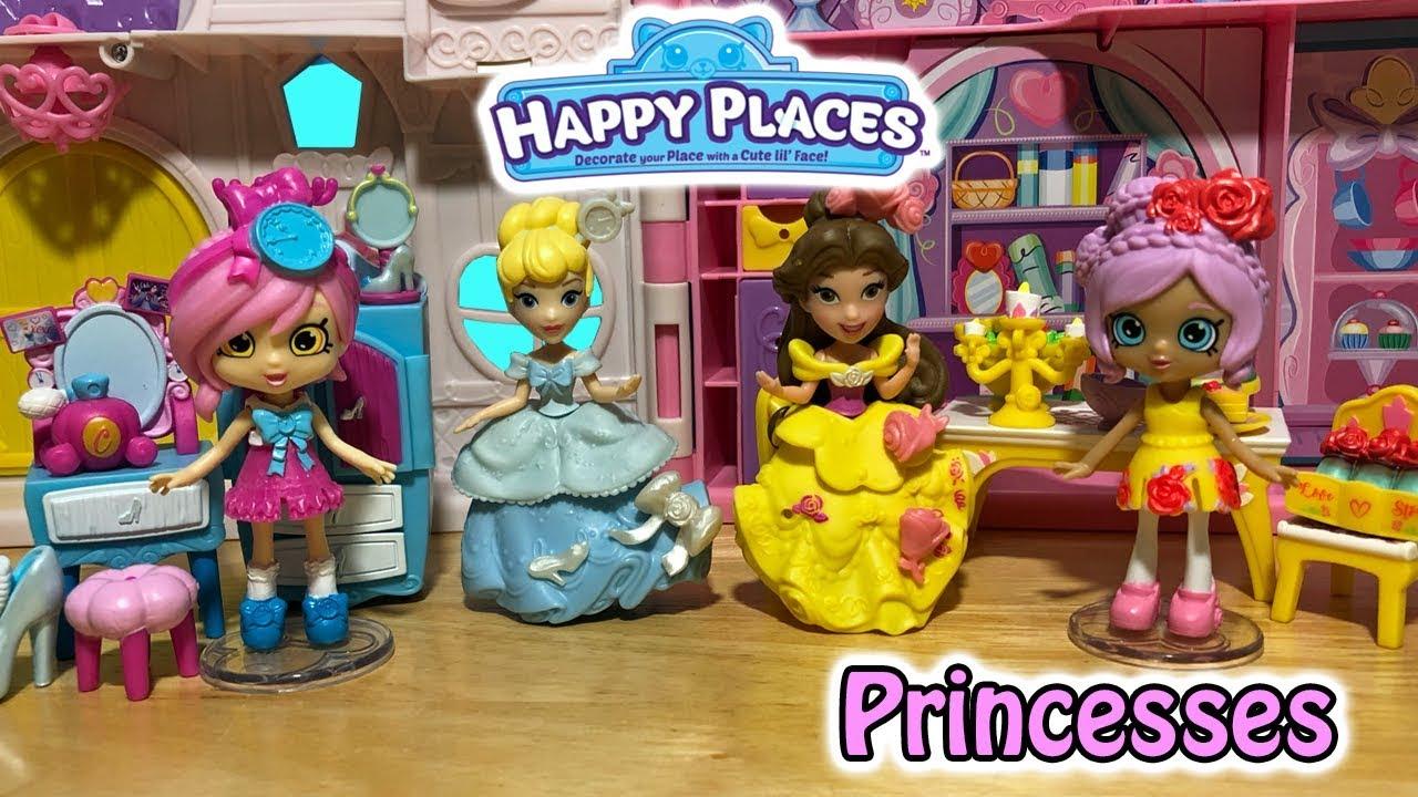 Disney Happy Places Belle Dining & Cinderella Vanity Theme ...