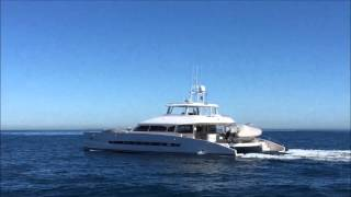 Launch of the Open Ocean 750 Luxury Expedition Catamaran