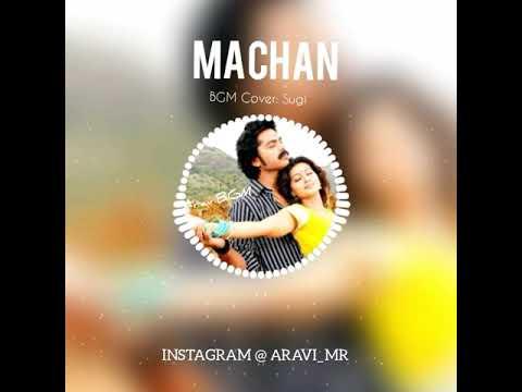 Machan Machan Silambattam Simbu BGM | Whatsapp Status BGM