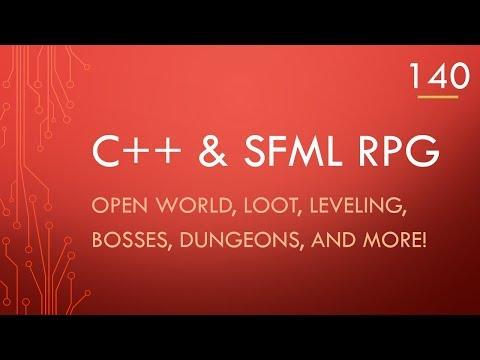 C++ & SFML | Open World RPG [ 140 ] | Fixed saving and loading! thumbnail