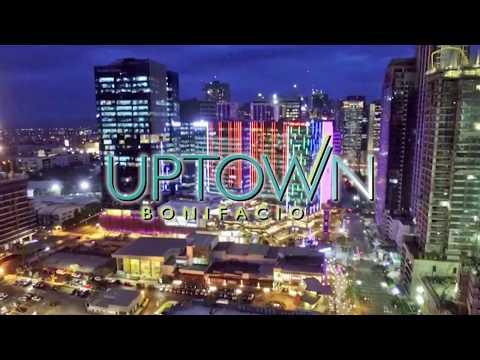2017 Uptown Bonifacio Fort BGC Global City Updated Drone Aerial Shot Latest Video
