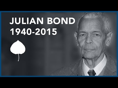 Julian Bond: MLK, Rights, and Civil Disobedience