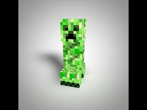 Minecraft Pe Creeper Skin YouTube - Skin para minecraft pe creeper