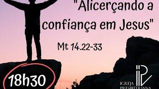 Alicerçando a confiança em Jesus