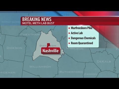 Active Meth Lab Found In Nashville Motel