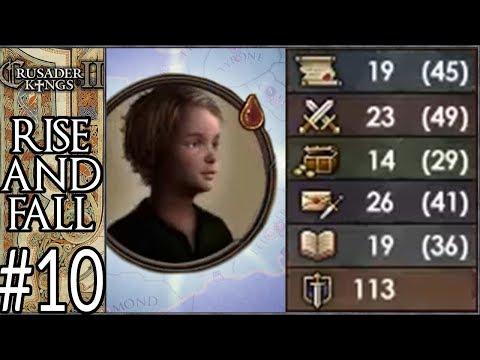 CK2 Plus: Rise of Celtica #10 - Child of Destiny (Series B) - YouTube