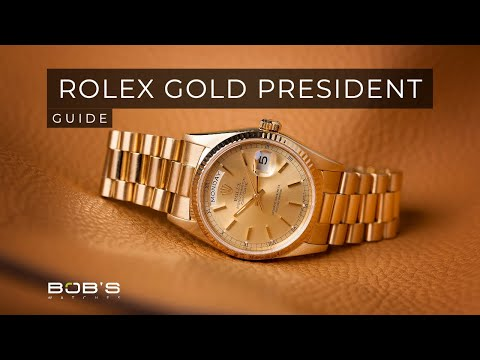 Yellow Gold Rolex Day-Date Ultimate Guide