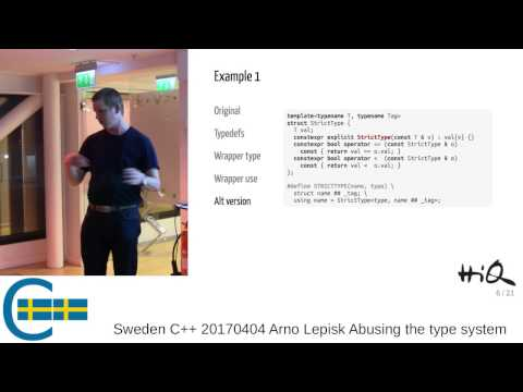Arno Lepisk - Abusing the type system for fun and profit