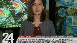 Bagyong Maring na nagpaulan sa malaking bahagi ng Luzon, papunta na ng West Philippine Sea