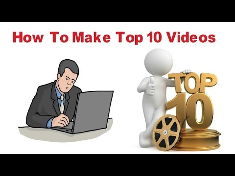 How To Make Top 10 or Top 5 Video Professionally ✅ Using Proshow Gold & Wondershare Filmora ✅