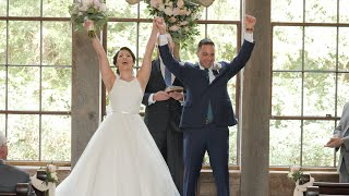 Kirstin and Donn's Wedding Ceremony at Big Sky Barn
