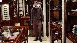 Мужской total-look от Stefano Ricci: костюм, сникеры, кепка, рюкзак, review - Видео от Лакшери