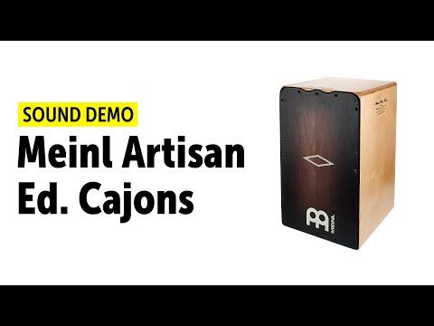 Meinl Artisan Edition Cajones - Sound Demo