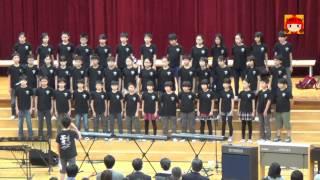ソウル日本人学校小学部6年生 - 合唱 [小さな勇気]