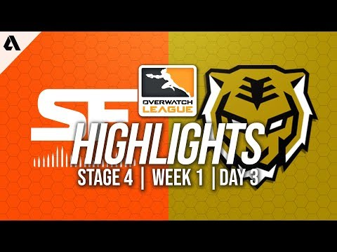 San Francisco Shock vs Seoul Dynasty | Overwatch League Highlights OWL Stage 4 Week 1 Day 3