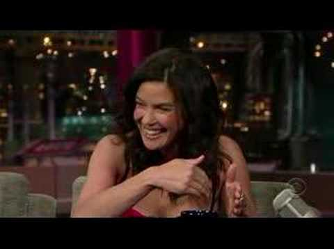 Teri Hatcher on David Letterman