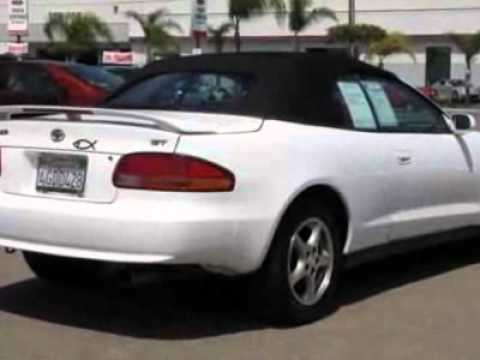 1999 toyota celica gt convertible san diego ca youtube. Black Bedroom Furniture Sets. Home Design Ideas