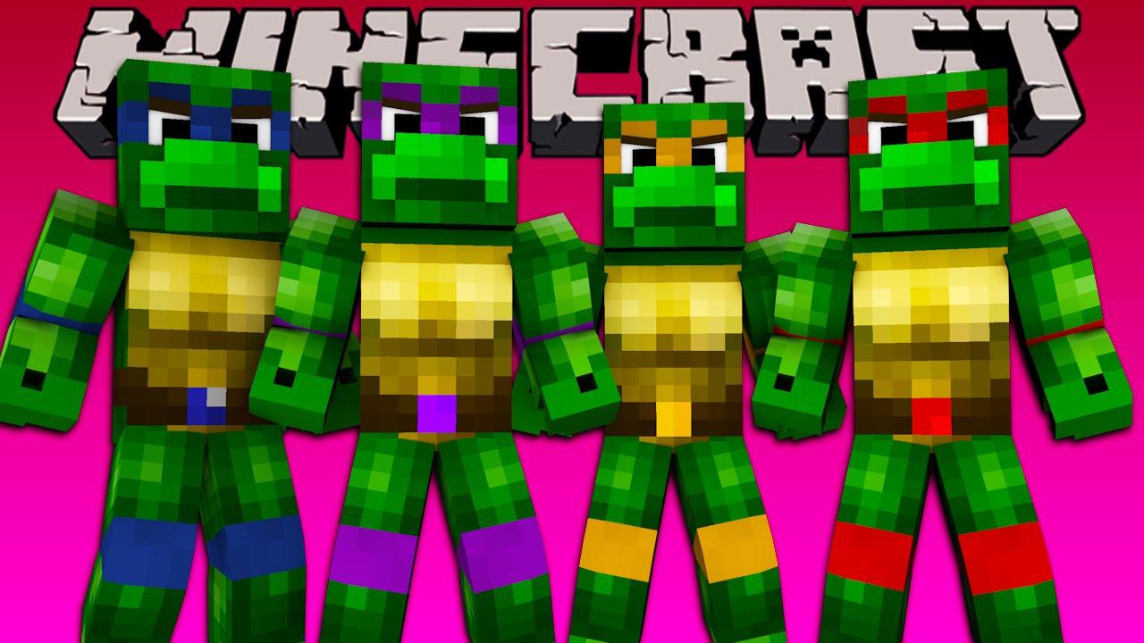 Minecraft Teenage Mutant Ninja Turtle Challenge W