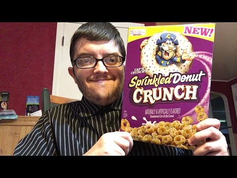 Big Rig - Powdered Donut Cereal? Yes It's a Thing.
