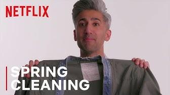 Tan France & Alexa Chung Go Through Old Clothes | Next in Fashion | Netflix