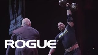 2014 Arnold Strongman Classic - THE CYR DUMBBELL