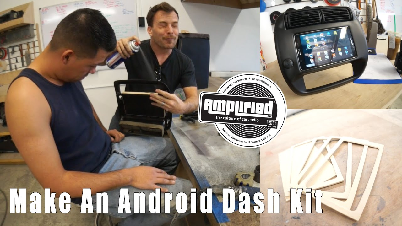 How to Install a Tablet  in Your Car, Galaxy Tab 4 Ford Ranger