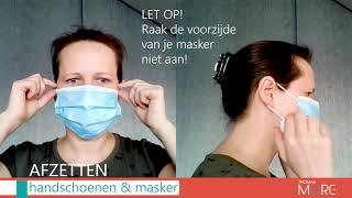 Over mondmaskers en handschoenen