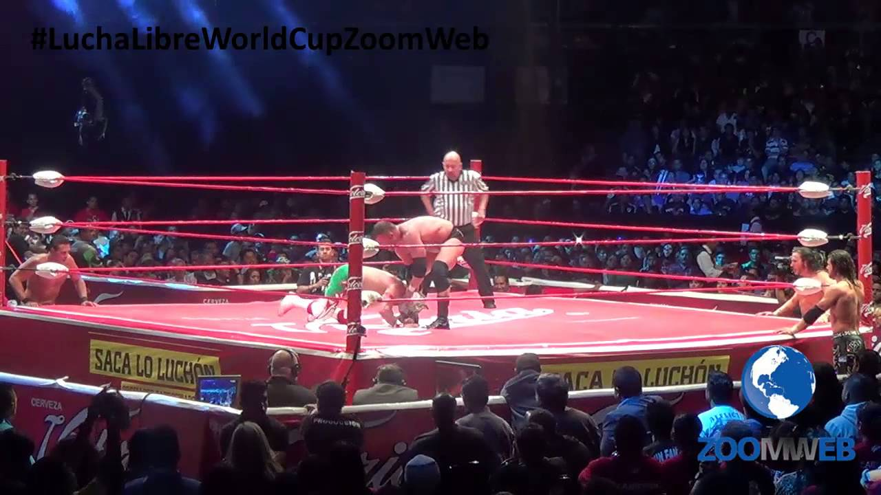 Lucha Libre Youtube Lucha Libre World Cup Final Dream Team Vs Tean Tna Undergroung