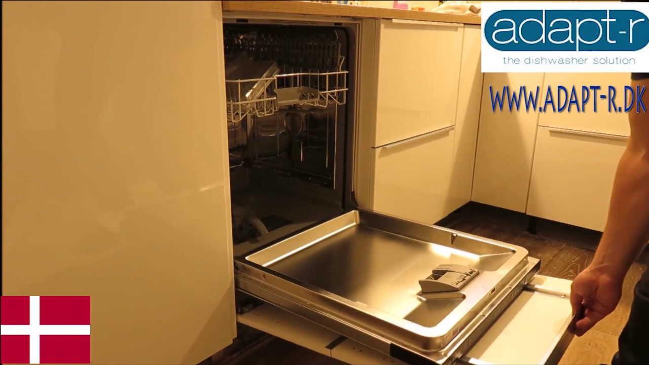 Opvaskemaskine dør problem IKEA Metod køkken - YouTube