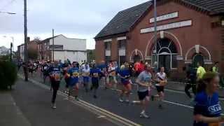 Birmingham half-marathon passes through Ten Acres, Stirchley