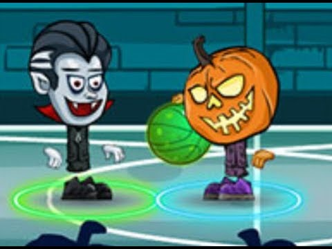 Halloween Basketball Legends Full Gameplay Walkthrough Youtube