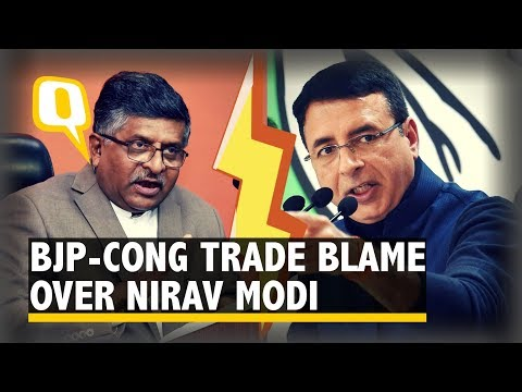 Cong-BJP Spat Over 'Chotta Modi' Remark, NiMo's Davos Picture   The Quint