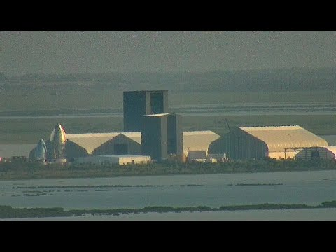 Sapphire Cam Live! 24/7 SpaceX Boca Chica Starship Construction And Launch Facility