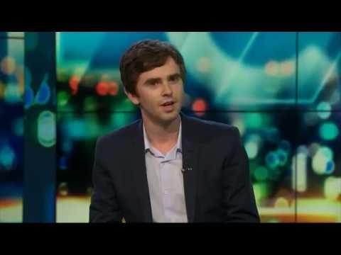 Freddie Highmore on The Project NZ | Newshub