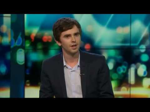 Freddie Highmore on The Project NZ  hub