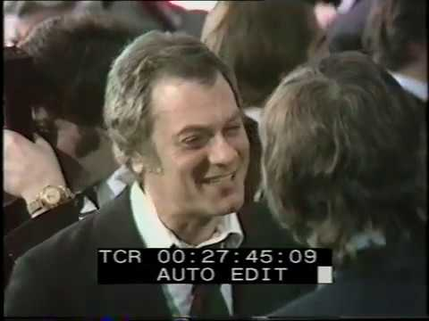 Tony Curtis Interview | Royal Premier | Love Story | 1971