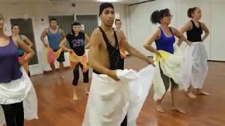 Yemaya - Leo Martínez y alumnos clase Orishas