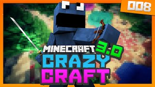 Minecraft Crazy Craft 3.0 - Ep 8 - SPAWNING THE KING AND QUEEN