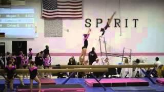 Hannah Fried Level 10 Gymnastics Dalmatian Classic Beam