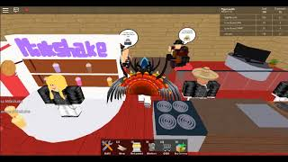 Celebrating Qatar National Day playing restaurant tycoon (Roblox)